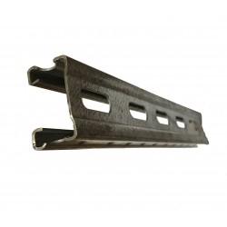 Profil slitat zincat H22 dimensiune 22*40mm bara 3ml