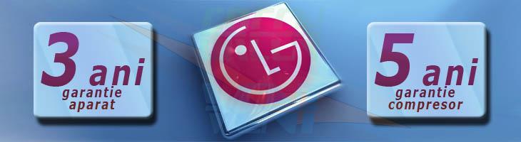 Garantie 3 ani aparat de aer conditionat LG Artcool Gallery G12PK si 5 ani garantie pentru compresoarele BLDC