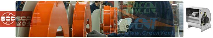 Ventilatoare Sodeca Spania pe linia de fabricatie